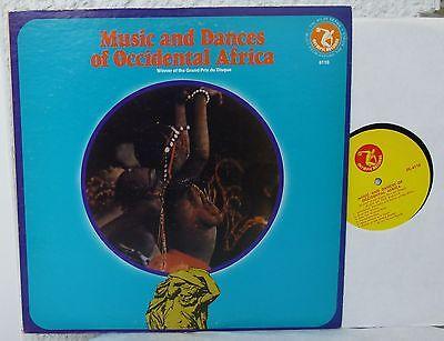 Music and Dances of OCCIDENTAL AFRICA  LP  MALI  GUINEA  Malinke  Baoule