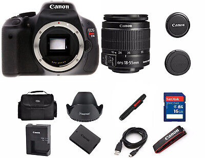 Canon Rebel T3i / 600D 18.0 MP SLR Camera With 18-55mm Lens Kit  (T3i Canon Kit)