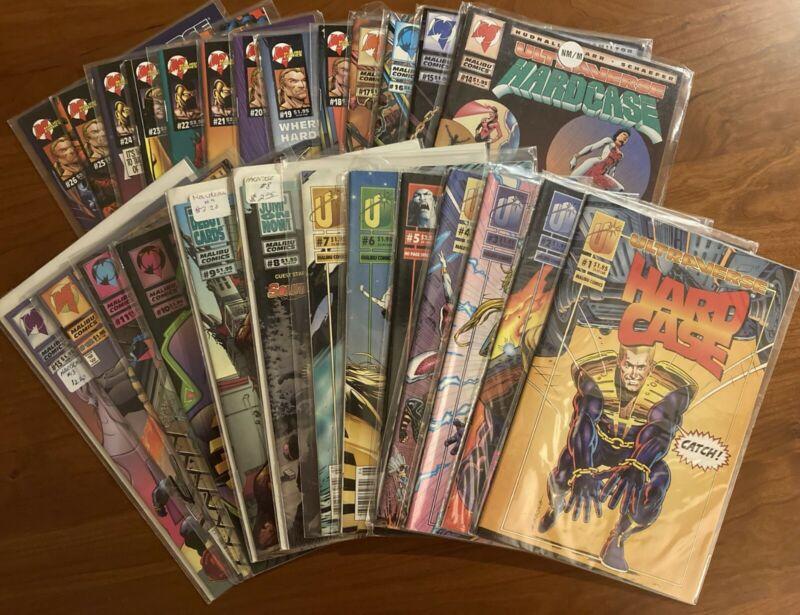 Malibu Hardcase #1-26 complete 1993 set - Marvel Ultraverse