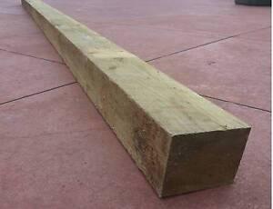 8x    Cypress Pine Posts Rough Sawn 100x100 3.6m lengths Craigieburn Hume Area Preview