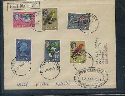 Tristan da Cunha   1963 fist day  cover