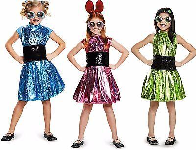 Powerpuff Girls Deluxe Child Costume  (Power Puff Girls Costume)