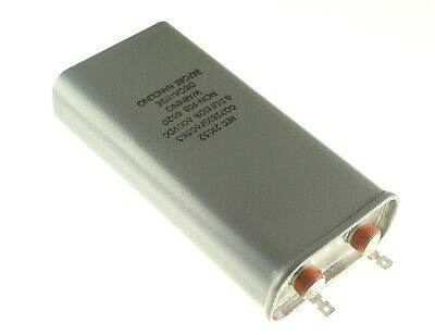 6mfd 600vdc Hermetically Sealed Oil Capacitor 6uf 600v Dc 600 Volts 6mf