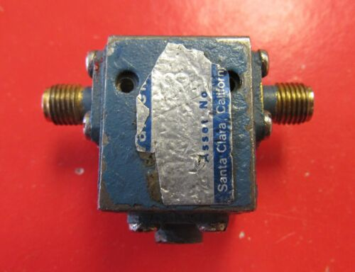 Coxial Isolator 9-17GHz Isolator, SMA (useable 8-18GHz)