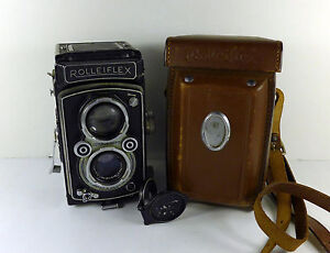 Rolleiflex-X-Type-2-Automat-II-TLR-Camera-For-Parts-No-Reserve
