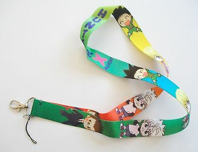 Anime Hunter x Hunter & Characters Multi Mix Color Lanyard Key Chain ~