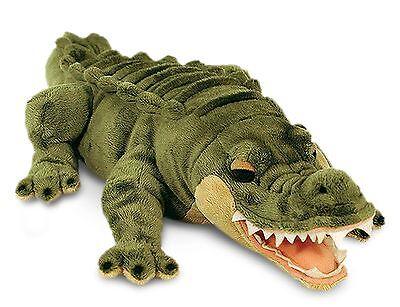 Alligator Kuscheltier Keel Toys, Dschungel Stofftier ca.45cm (Krokodil Stofftier)