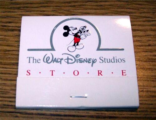 Walt Disney Studios Store - Cast Member Book of Matches - New