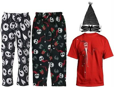 Disney Nightmare Before Christmas Pants T-Shirt Hat - Men's S M L XL - New - Nightmare Before Christmas Clothing