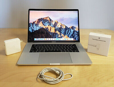 Apple MacBook Pro 2017 512gb SSD 16gb RAM 2.9ghz Intel Core I7 15 Inch Touch Bar