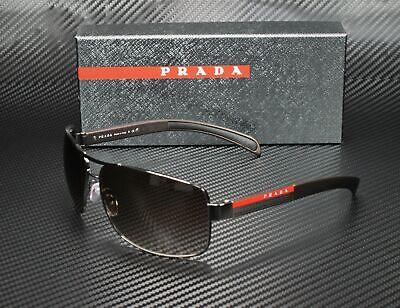 PRADA LINEA ROSSA PS 54IS 5AV6S1 Gunmetal Brown Gradient 65 mm Men's Sunglasses