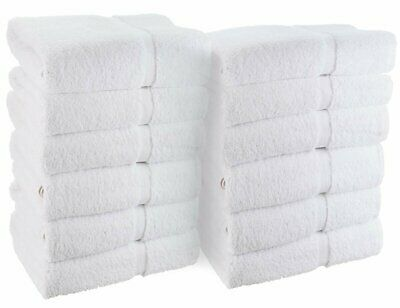 WhiteBasics Cotton Hand Towels for Hotel-Spa-Salon-Gym-Bathr