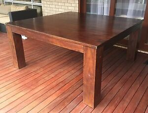 Dining Table - Solid wood 1.61m square Augustine Heights Ipswich City Preview