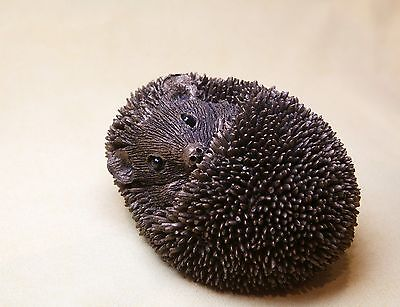 Hedgehog - Zippo - Small -  Frith Bronze - Thomas Meadows