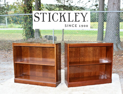 STICKLEY (2) Cherry Bookcases - RARE Pair!!!