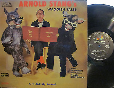 ► Arnold Stang - Arnold Stang's Waggish Tales (ABC Basic 294) Mono (D. Costa