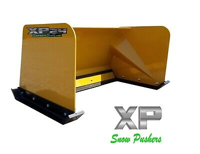 4 Xp24 Cat Yellow Snow Pusher Torodingo Ditch Witch Vermeer - Local Pickup