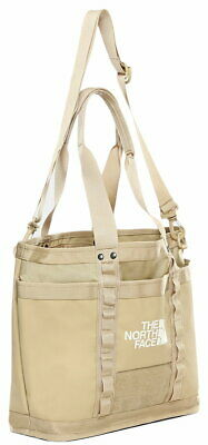 The North Face Explore Utility Tote Bag In Twill Beige