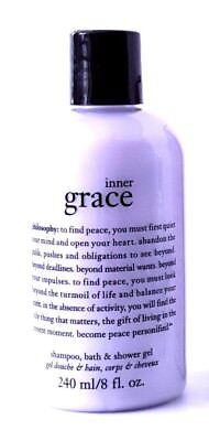 Philosophy Inner Grace INNER GRACE SHOWER GEL 8OZ NEW! AMAZING!   NO SEAL