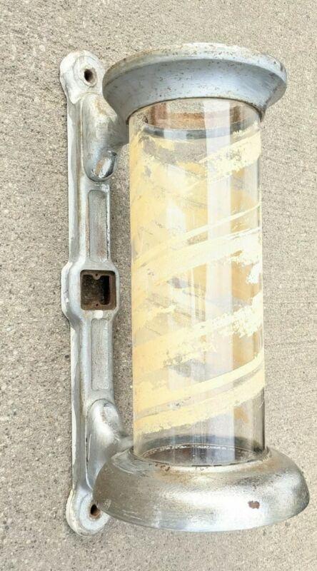 Vintage Antique Parts Koken Barber Pole mounting Casting Glass Original Model 13