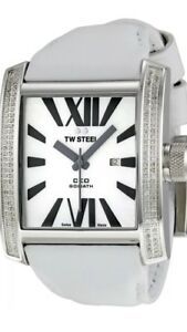 TW STEEL CEO Goliath Diamond & White Gold Watch CE3015 - RRP £895 - BRAND NEW