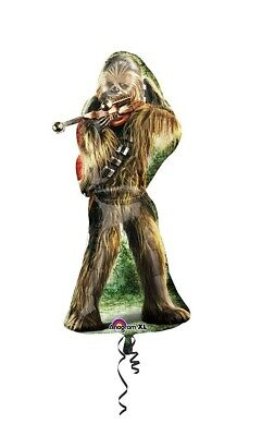 Star Wars Chewbacca Balloon Supershape XLarge 38 Inches Birthday Party RRP £19.9