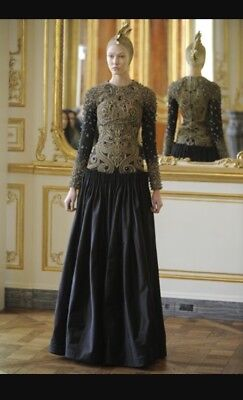New Collectible Rare Alexander McQueen Angel And Demons Gown 2010 Dress