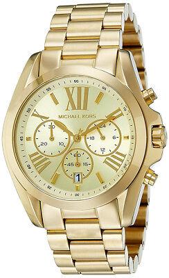 Michael Kors Women's MK5605 Bradshaw Gold Watch