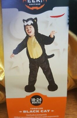 Infant And Toddler Costumes (Black Cat Toddler Infant Costume Hyde and Eek)