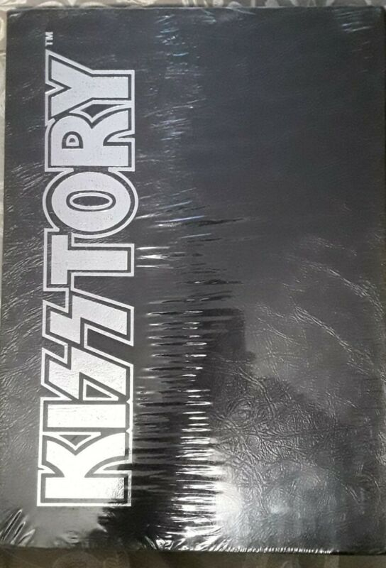 KISSTORY BOOK ONLY SEALED ONE ON EBAY MINT PAUL STANLEY