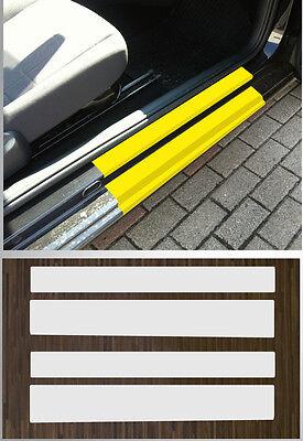 Lackschutzfolie transparent Einstiege Türen passgenau für VW UP! 3-Türer