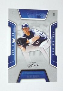2003 FLAIR  BASEBALL CARD OF  RICHIE SEXSON  #144/150