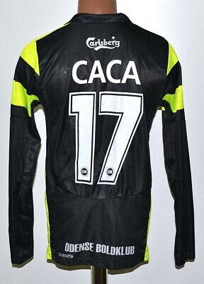 ODENSE BOLDKLUB 2008/2009 AWAY FOOTBALL SHIRT JERSEY PUMA #17 CACA SIZE M ADULT image