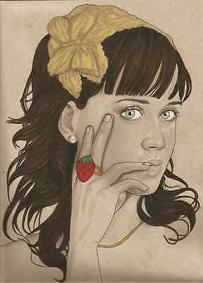 Katy Perry original painting