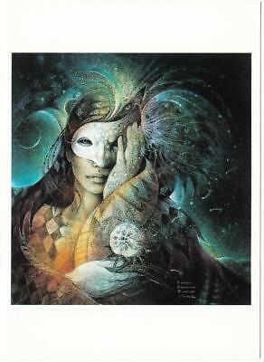 Hel by Susan Seddon Boulet Norse Goddess Visionary Art Postcard