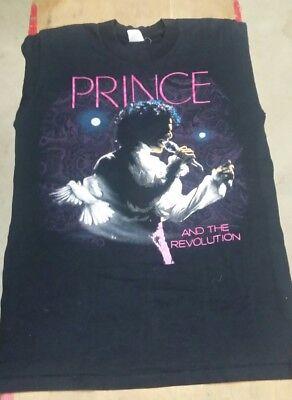 Vintage 1985 Prince and the Revolution Purple Rain Tour Concert T Shirt sz M
