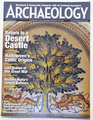 Archaeology Magazine November/December 2016 - Halloween's Celtic Origins](Celtic Halloween History)