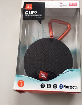 JBL Clip 2 Portable Wireless Bluetooth Speaker - Black