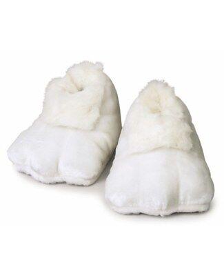 Plush Bunny Costume (White Plush Bunny Adult Shoes (Pair) Easter Rabbit Mascot Feet Costume)