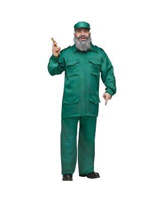 Fidel Castro Adult Costume - Castro Costume