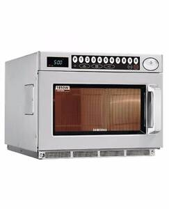 Samsung Heavy Duty 1850W Commercial Microwave-Clearance Sale Melton Melton Area Preview