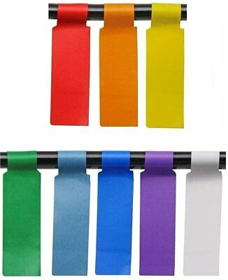 8 Colors 240 Pack Cable Labels Self-adhesive Stickers Waterproof Wire Labels