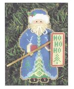 Cross Stitch Santa Perforated Paper