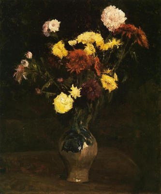 Vincent van Gogh, Basket of Carnations, 1886, Hand Painted Canvas Oil Painting