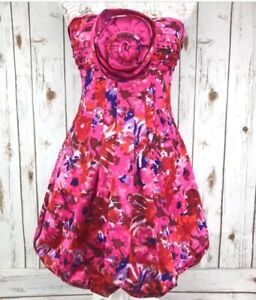 Brand New BCBG Floral Begonia Combo Dress sz4, $75