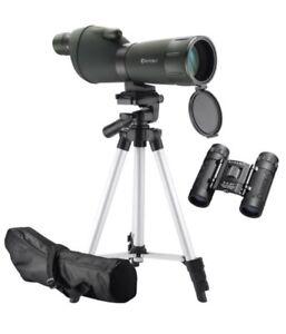 Barska Optics Colorado 20-60x60mm Spotting Scope w/ Adjustable Tripod & Case