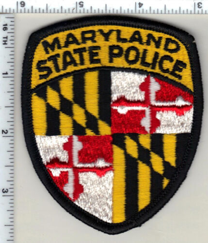 State Police (Maryland) uniform take-off shoulder patch from 1980