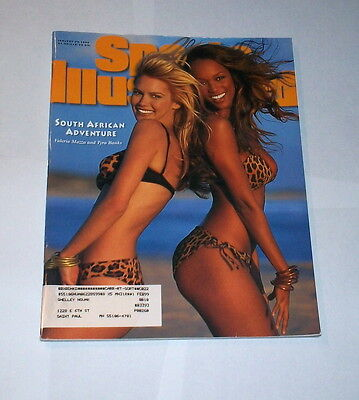 1996 Sports Illustrated Swimsuit Tyra Banks   Valeria Mazza   Nice