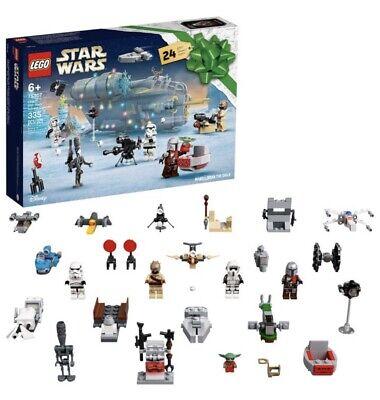 Lego Star Wars Mandalorian 2021 Advent Calendar 75307 New Sealed