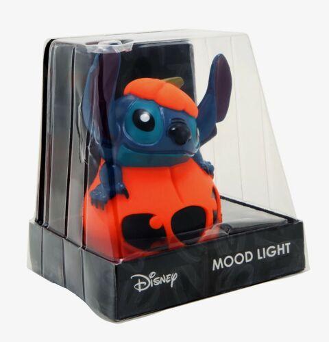 Disney LILO & STITCH PUMPKIN MOOD LIGHT NEW Desk Lamp Night Light Halloween